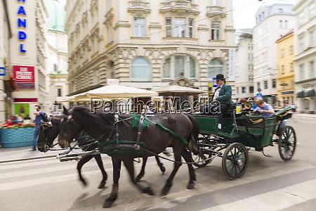 pferde und kutschfahrt wien OEsterreich