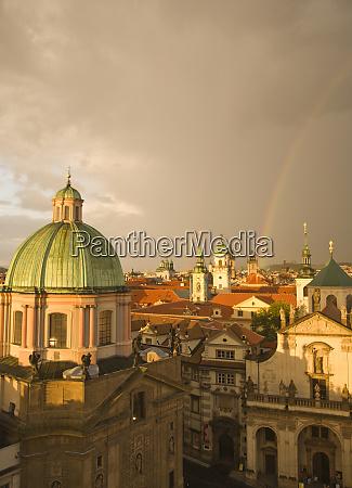 czech republic prague view of pragues