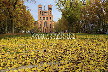 deutschland berlin thomaskirche