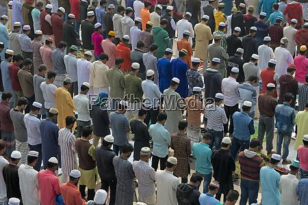 pilger, beten, in, bishwa, ijtema, dhaka, bangladesch. - 27753772