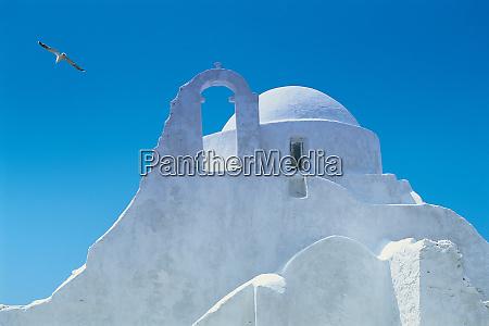 typische griechische architektur mykonos griechenland