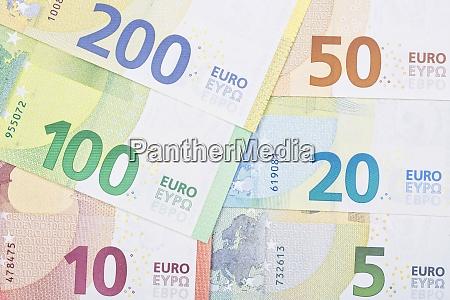 neue serie von europaeischem geld ein