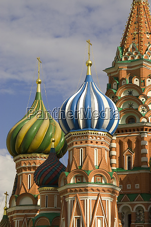 russland moskau roter platz basilius kathedrale