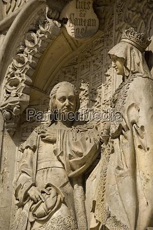 spanien madrid columbus square denkmal detail