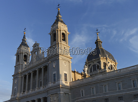 cathedral de la almudena madrid spain