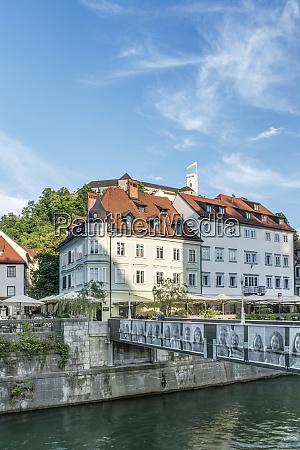slovenia ljubljana old town large format