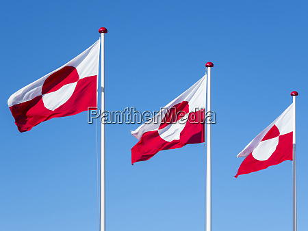 the flag of greenland nuuk capital