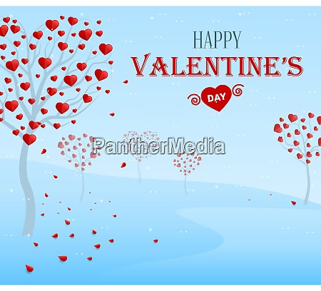 happy valentines day tree of the