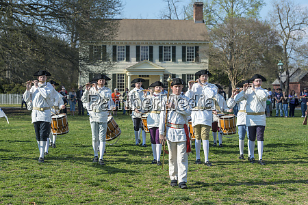 usa virginia williamsburg colonial williamsburg fife