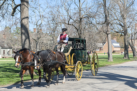 usa virginia williamsburg colonial williamsburg horse