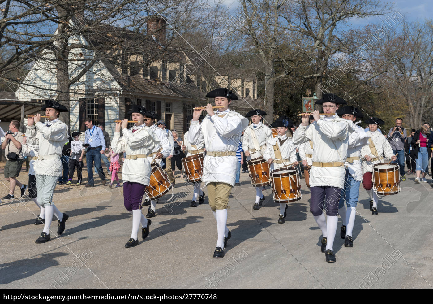 usa, virginia, williamsburg, colonial, williamsburg, fife, und, drum, corps - 27770748
