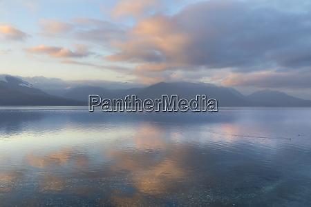 usa washington state seabeck winter sunset