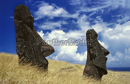 south america chile easter island imposing