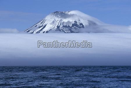 usa aleutian islands amukta island in