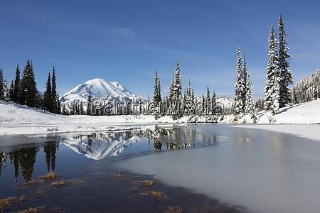 wa mount rainier national park mount