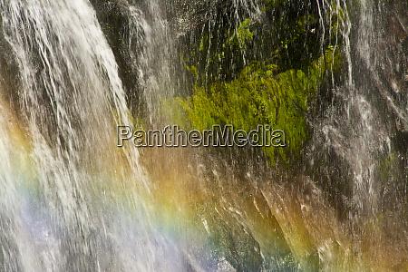 rainbow narada falls mount rainier national