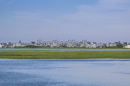 usa maine wells beach elevated view