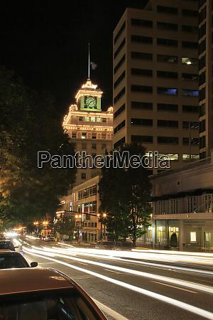 usa oregon portland jackson tower and