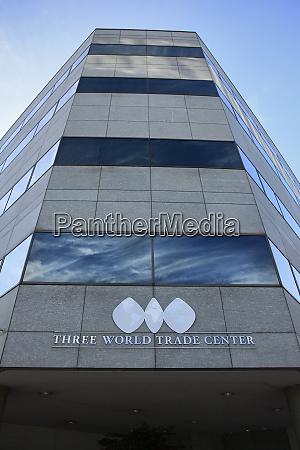 usa oregon portland three world trade