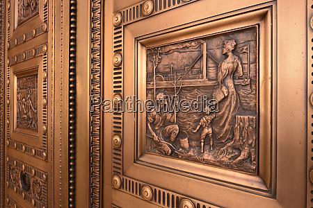 usa oregon portland close up of