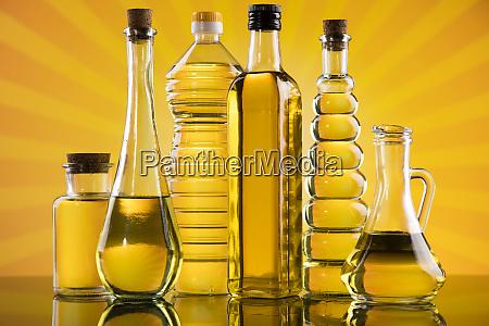 OElprodukte native sinierte extra oliven sonnenblumenkerne