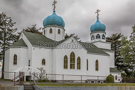 usa alaska kodiak holy resurrection russian