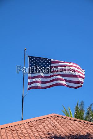 usa florida daytona beach amerikanische flagge