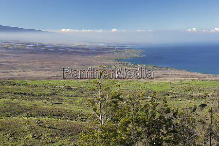 northern kohala mountain coast looking south