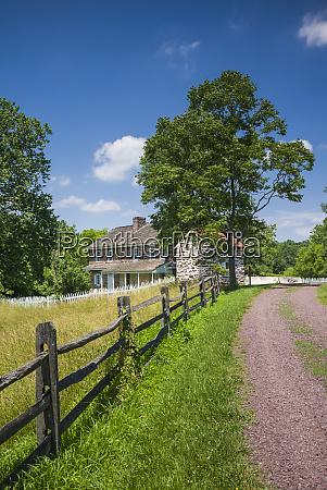 usa pennsylvania birdsboro daniel boone homestead