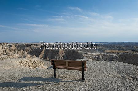 badlands national park south dakota usa