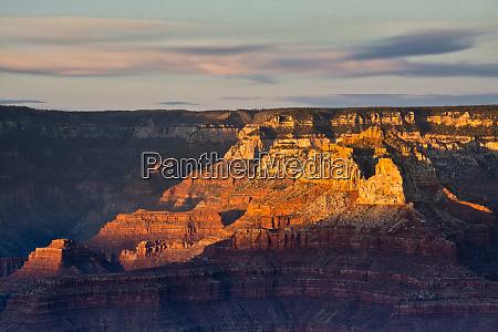 sunset yaki point south rim grand