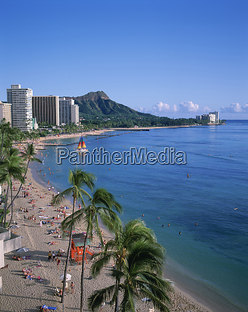 waikiki oahu hawaii usa