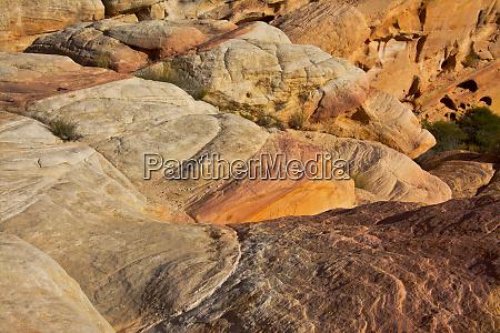 multicolored landscape scenic drive valley of