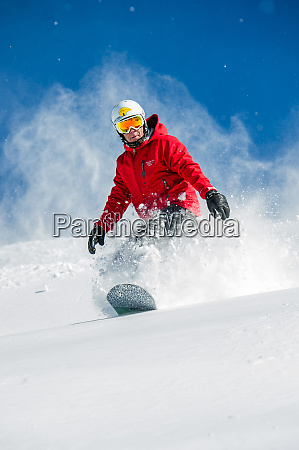 usa new mexico santa fe snowboarding