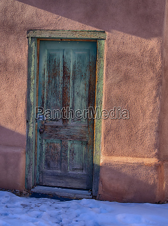 usa new mexico sant fe adobe