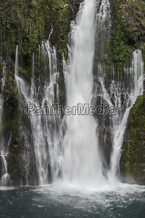 usa california detail of burney falls