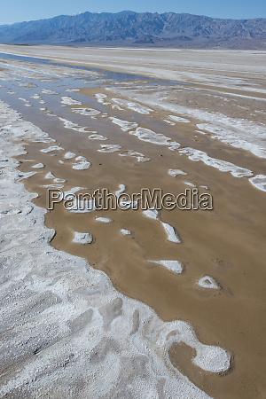 usa california salt flats with panamint