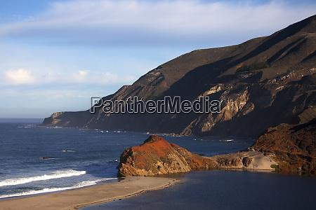 usa california california coast on pacific