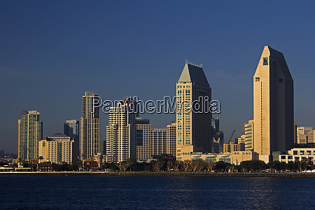 usa california san diego downtown san