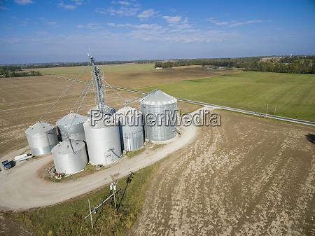 grain bins and elevator marion county