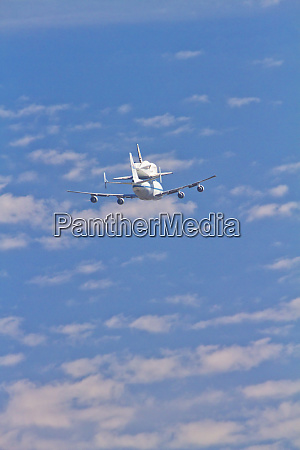 the space shuttle endeavor is transported