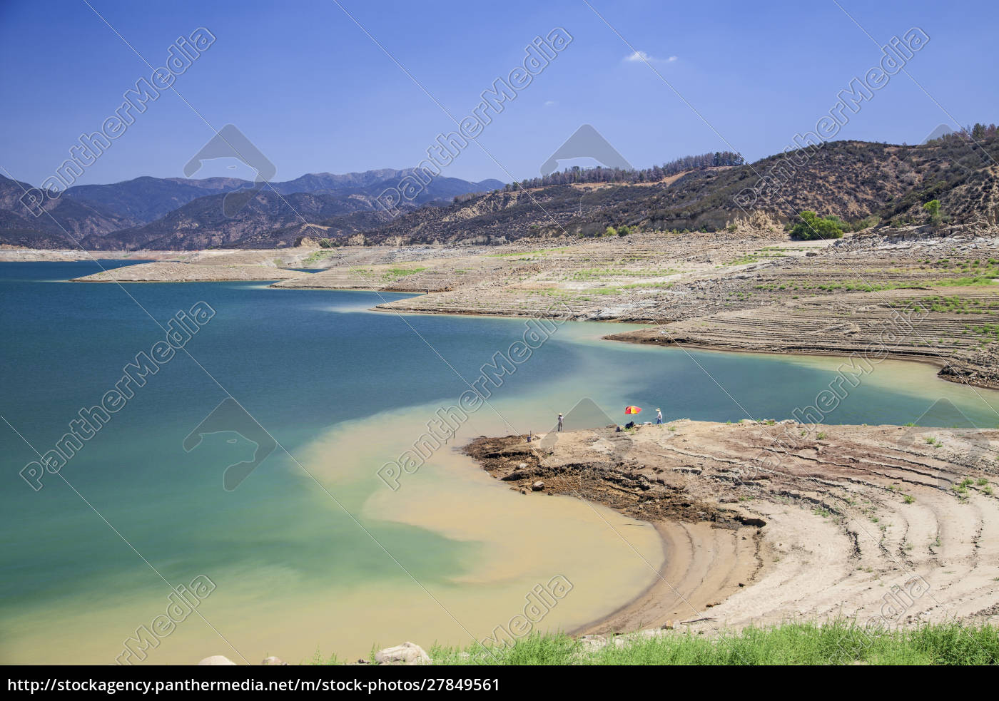 castaic, lake, , a, terminus, of, the - 27849561