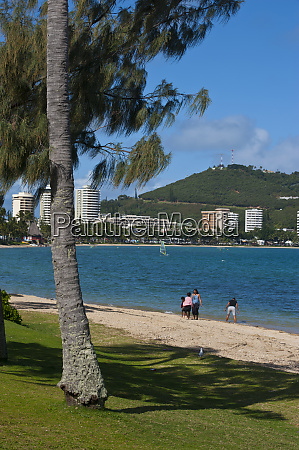 waterfront and beach in noumea capital