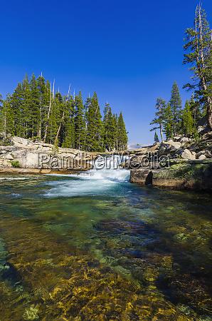 cascade on the tuolumne river tuolumne