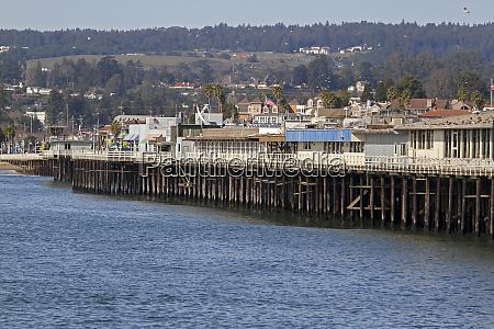santa cruz wharf santa cruz california