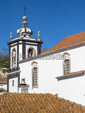 portugal obidos sao tiago church built