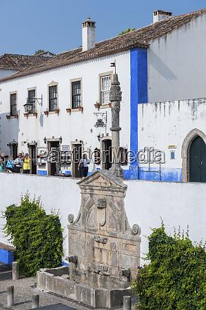 europe portugal obidos main square