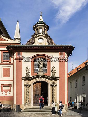 czech republic prague the convent building