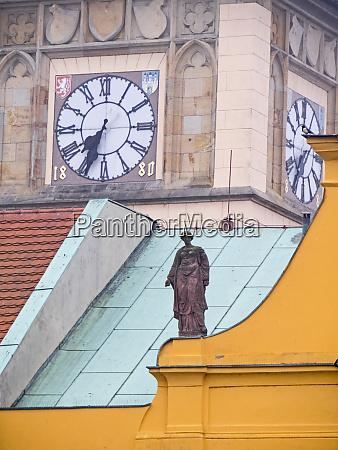 czech republic prague close up of