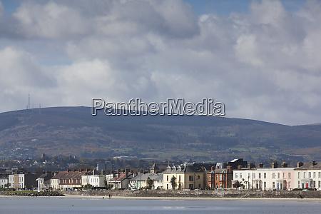 ireland dublin shoreline view of dun